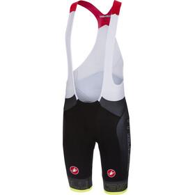 Castelli Free Aero Race Bib Shorts Heren geel/zwart